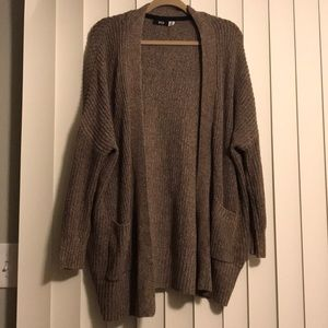 Brown Urban Outfitters cardigan